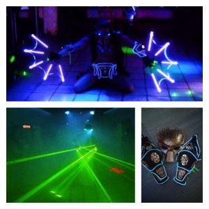 Световое лазерное шоу на праздник от Майкла