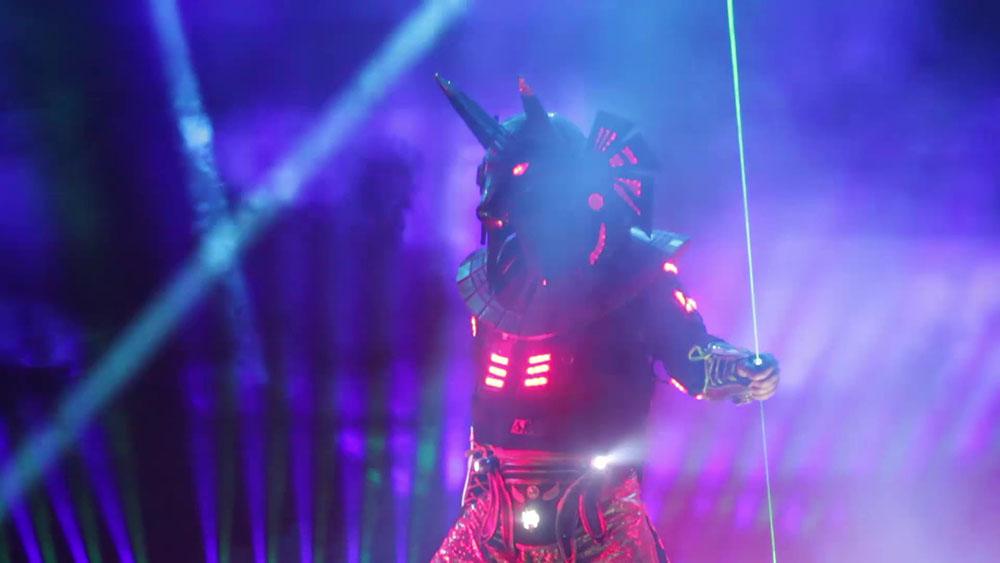 световое шоу на праздник москва