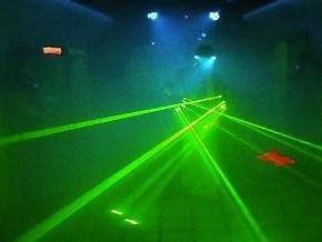 лазерное шоу на праздник